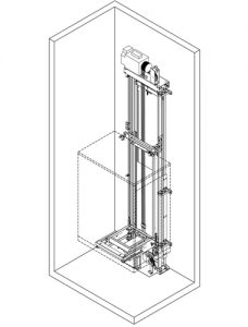 MRL lift AR-Slim