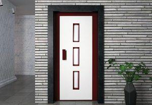 Лифтовая дверь HAS 03RAL7032-3005