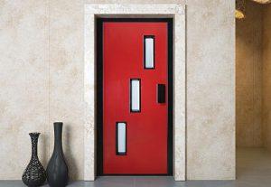 Лифтовая дверь HAS04RAL3005-9005