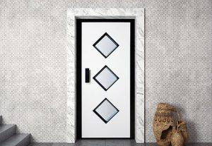 Лифтовая дверь HAS05RAL1013-9005