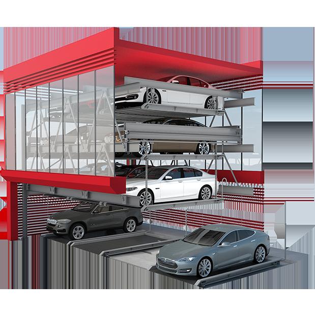 Системы парковки автомобилей №1