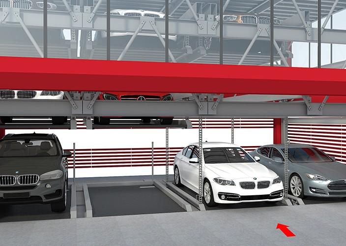 Системы парковки автомобилей №4