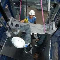 Демонтаж лифтового оборудования