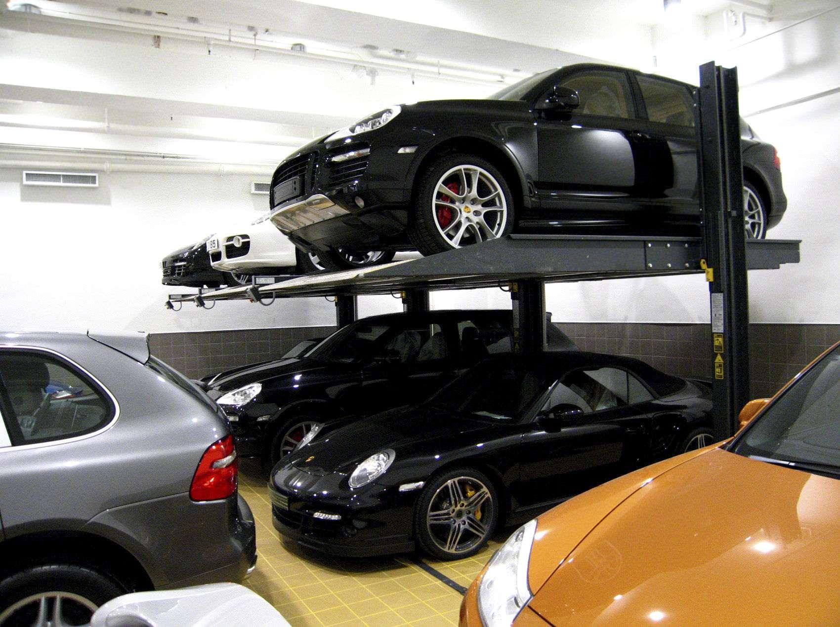 Купить парковочный подъемник