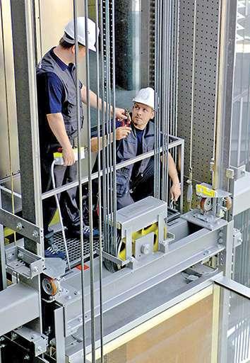 Ремонт лифта